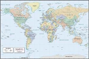 World Political Map Countries | www.pixshark.com - Images ...