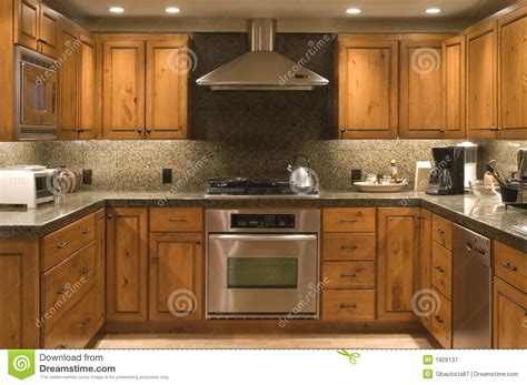 Kitchen Stock Image Image Of Counter, Cook, Cabinet
