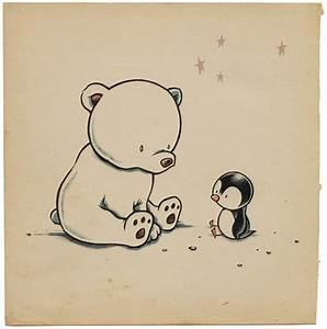 polar bear & penguin | Moshi Moshi | Flickr