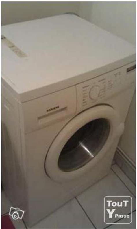 machine a laver lave linge siemens peu servi classe a