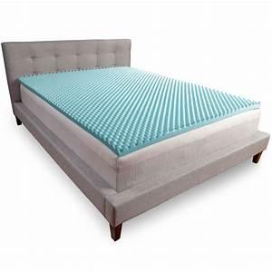 comfort revolution 2quot convoluted memory foam topper wayfair With comfort revolution memory foam mattress topper