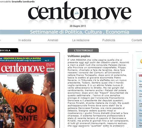 All Asta Messina by Messina All Asta Il Giornale Centonove Ideato Dal