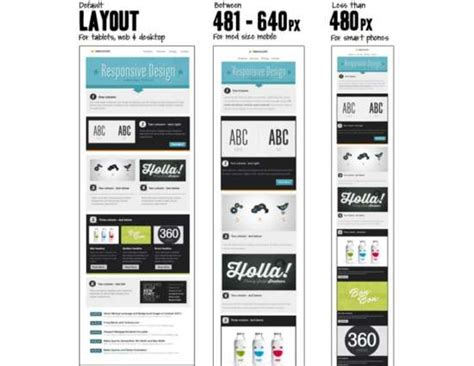 responsive email templates   great