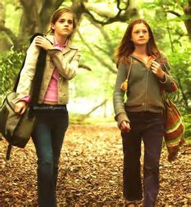 Ginny Weasley and Hermione Granger