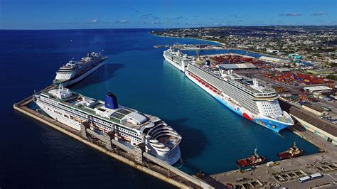 Cruise Ship Photography For The Barbados Port Authority | Recent Drone Aerial Work From Above ...
