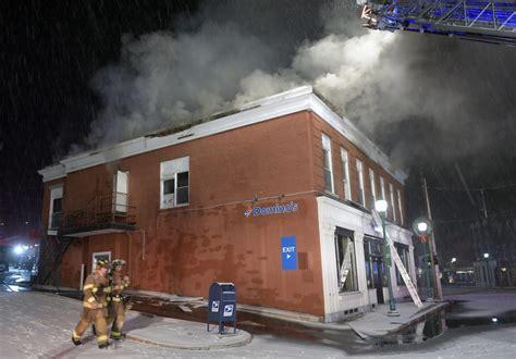 fire destroys  floor  historic downtown gardiner