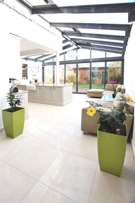 contemporary kitchen extensions contemporary conservatory ideas open plan extension for 2486