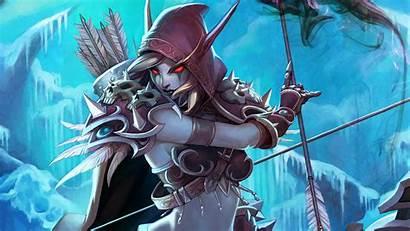 Warcraft 4k Sylvanas Wow Windrunner 8k