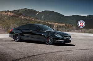 Mercedes CLS 63 AMG Black Wheels