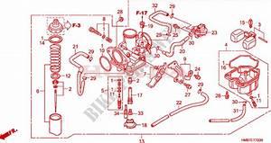 Carburetor For Honda Fourtrax 250 Recon Standard 2006