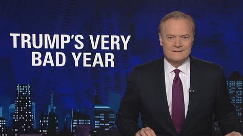 lawrence odonnell  donald trumps  bad year