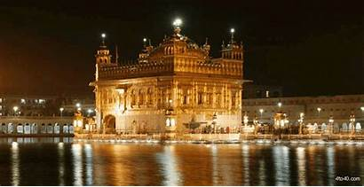 Temple Golden Night Wallpapers Sahib Harmandir India