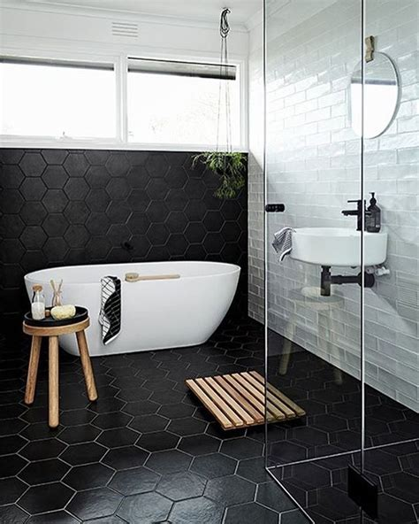black and white bathroom ideas pictures best ideas about black white bathrooms on black and black