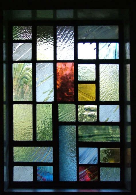 contemporary stained glass panels ideas  pinterest