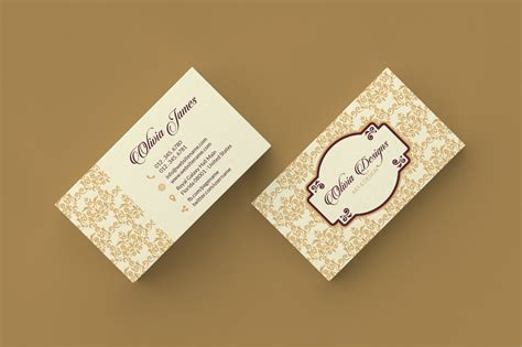 simple minimal business cards graphic pick
