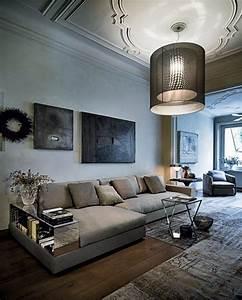 Graues Sofa Kombinieren : wohnzimmer m bel graues polstersofa einbau regale design ~ Michelbontemps.com Haus und Dekorationen