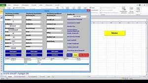 2 Rechnungsprogramm In Excel Selber Erstellen