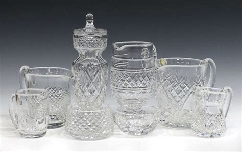 waterford crystal table ls 8 collection waterford cut crystal table items special
