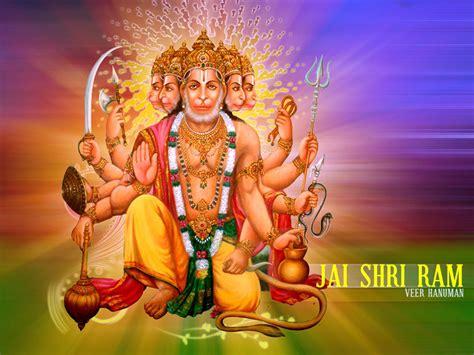 panchmukhi hanuman hd wallpapers hindu god hd wallpapers