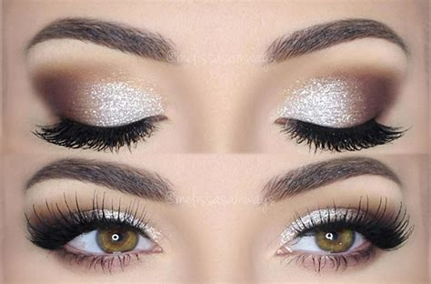 sparkling magic  diy glitter eye makeup