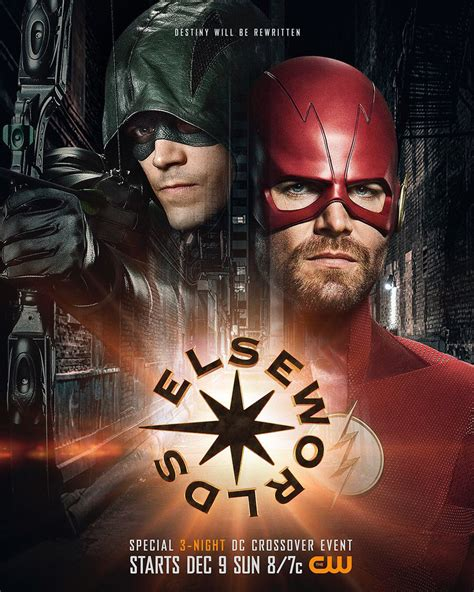 cws superhero crossover elseworlds poster released