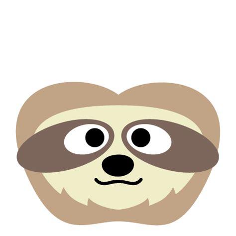 sloth mask template sloth mask printable sloth2 101 printables