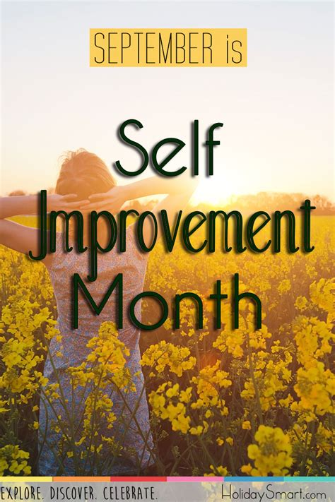 improvement month holiday smart