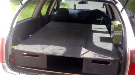 holden commodore campervan conversion youtube