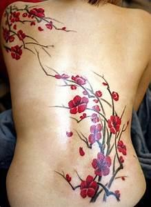 Tattoo Fleur De Cerisier : tatouage fleur de cerisier japonais signification acidcruetattoo ~ Melissatoandfro.com Idées de Décoration
