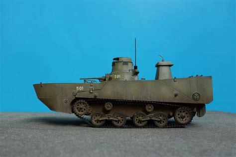 hibious tank ijn type 2 quot ka mi quot amphibious tank w floating pontoons
