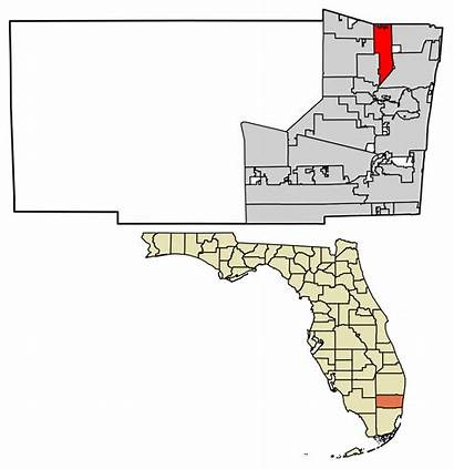 Broward County Florida Unincorporated Areas Coconut Incorporated
