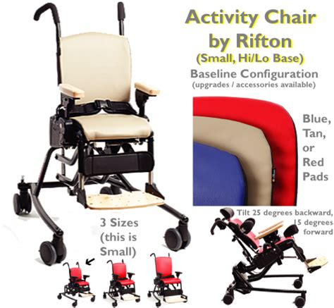 rifton activity chair with tray small rifton hi lo activity chair