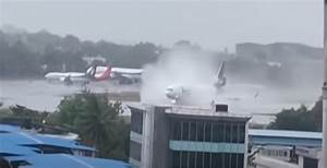 Cyclone Nisarga  Fedex Cargo Flight Skids Off Runway On