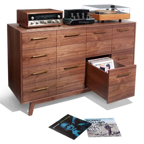 Vinyl Cabinet by The Record Cabinet For Vinyl Records Atocha Design