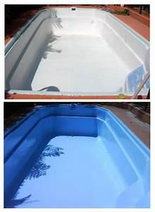 Peinture Pour Piscine : comment repeindre une piscine coque ~ Nature-et-papiers.com Idées de Décoration