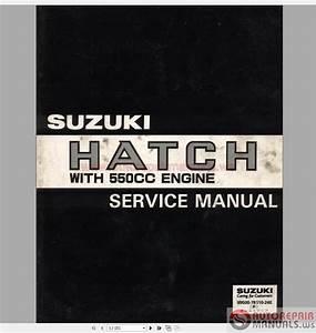 Suzuki F5a Engine Service Repair Manual