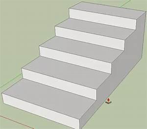 Treppe Konstruieren Zeichnen : 123 sketchup treppen modellieren in 3d ~ Orissabook.com Haus und Dekorationen