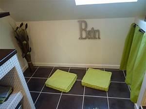 salle de bain photo 5 8 carrelage de sol couleur chocolat With couleur carrelage salle de bain zen