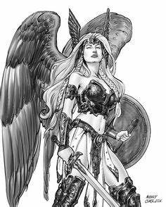 Tatouage Valkyrie Nordique : valkyrie warrior guerri re dessin pinterest guerriers mythologie nordique et dessin ~ Melissatoandfro.com Idées de Décoration