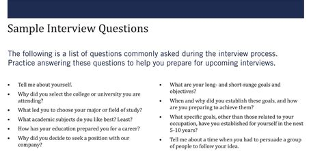 Sample Interview Questions  Kelleyconnect  Kelley School. Week Number Calendar 2018 Template. Catering Order Forms Template. Birthday Ppt. Google Spreadsheet Project Management Template. Resume For Program Manager Template. Covering Letter Format Uk. Rsvp Cards Templates Free Template. Phone Number To Address Template