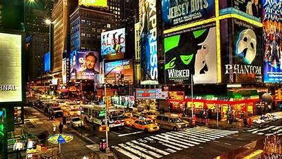 York Street Wallpapers Streets Desktop Nyc Broadway