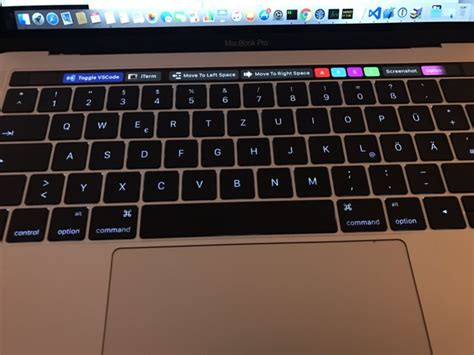 Bettertouchtool Voor Mac Ondersteunt Macbook Pro Met Touch Bar