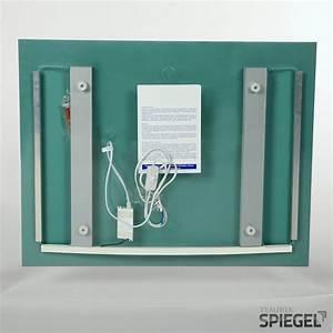 Spiegel Aufhängen Richtige Höhe : badspiegel mit beleuchtung badezimmer spiegel mit licht mister 70 x 98 cm ebay ~ Bigdaddyawards.com Haus und Dekorationen