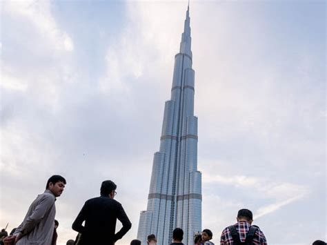 The View Burj Dubai Tower Tallest Building in the World