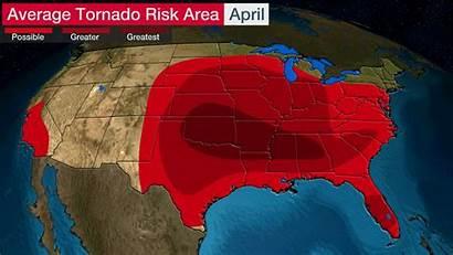 April Tornado Tornadoes June Most Dangerous Channel