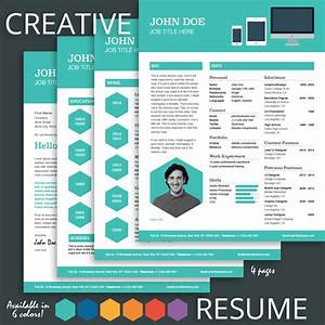 creative resume template for pages mactemplatescom With creative resume design templates