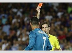 Redcarded Ronaldo OUT of Supercopa 2nd leg