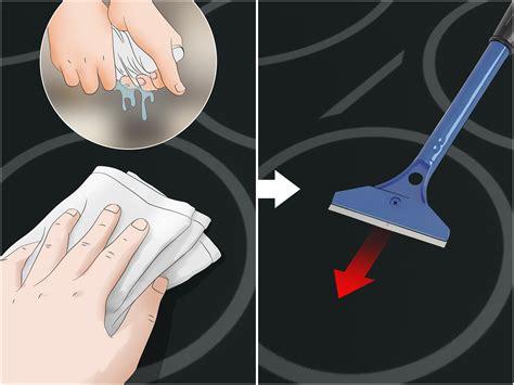 pulire piano cottura vetroceramica come pulire un piano cottura in vetroceramica wikihow