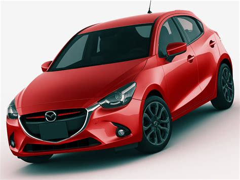 Mazda 2 Backgrounds by Details Demio Mazda 2 3d Model