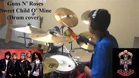 Guns N Roses Sweet Child O' Mine (drum Cover)